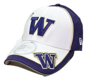 best website 6fa77 9fc04 Image is loading Washington-Huskies-New-Era-Adjustable-Wazbon-Structured- NCAA-