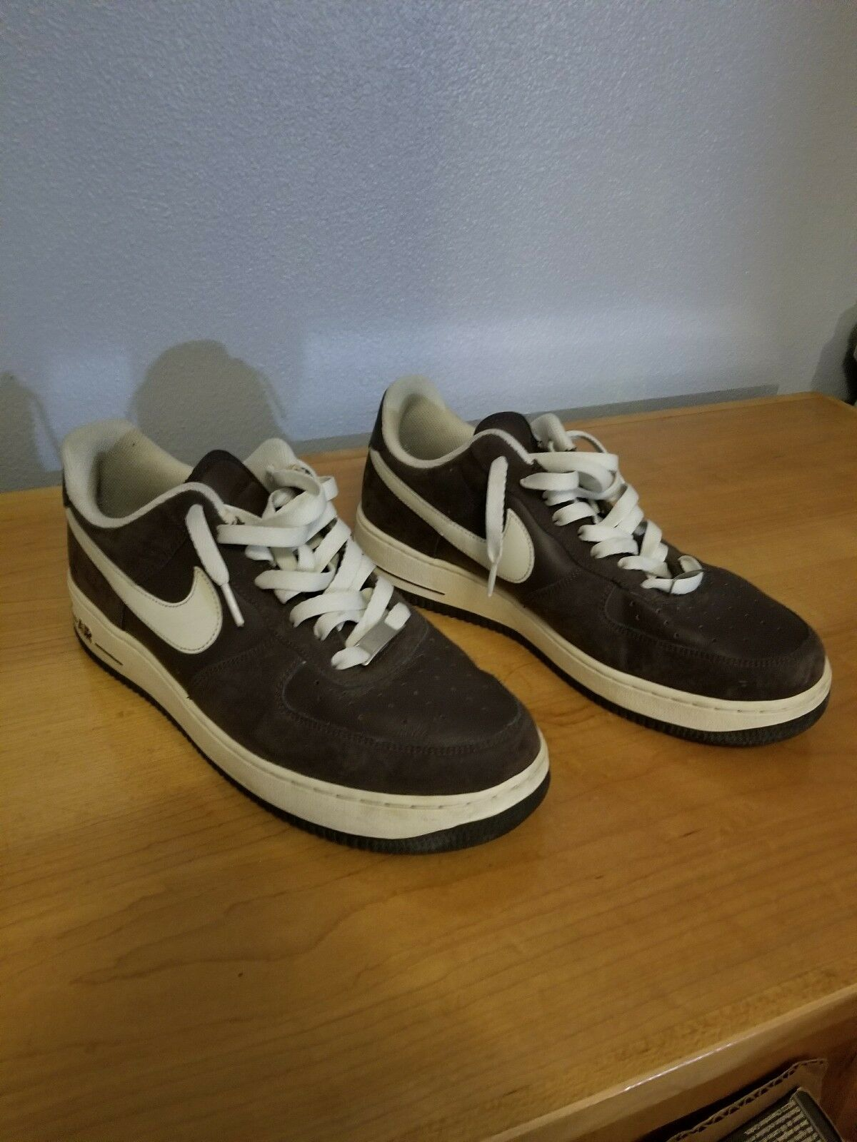 Nike Air Force 1 Size Low  Brown  Size 1 10.5 8b90f2