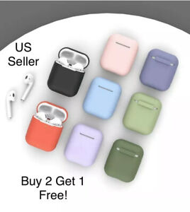 AirPods-Case-Cover-Premium-Silicon-Protective-For-1-amp-2-Top-Quality-USA-Seller