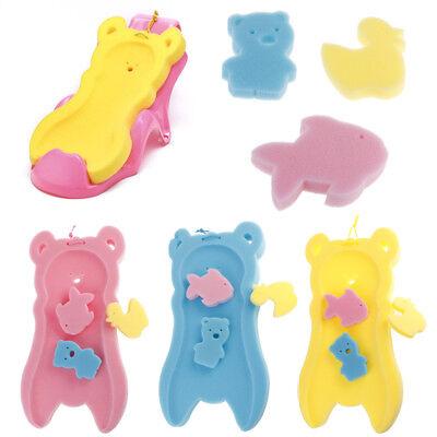 Newborn Anti-slip Sponge Pad Baby Bath Tub Bathing Pad Infant Shower Baby CareLY