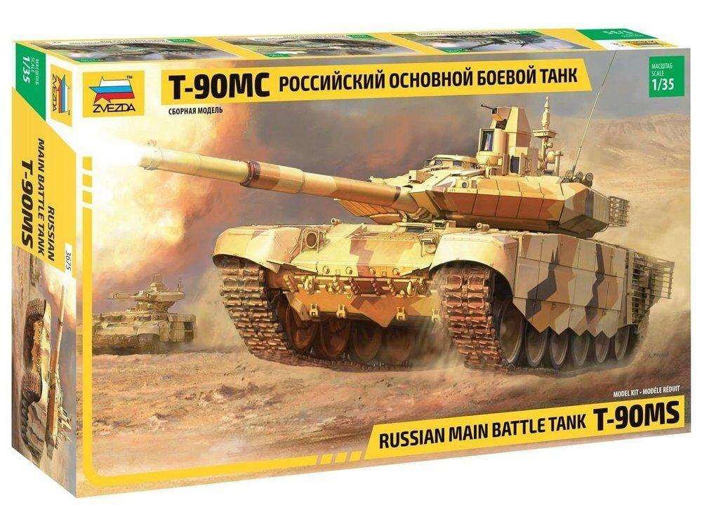 Zvezda 1 35 Echelle T-90 Ms Russe Mbt Mbt Mbt 61c59d