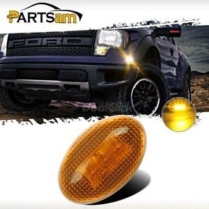 For-99-10-Ford-F350-Side-Amber-Fender-Marker-Dually-Bed-LED-Replacement-Lights