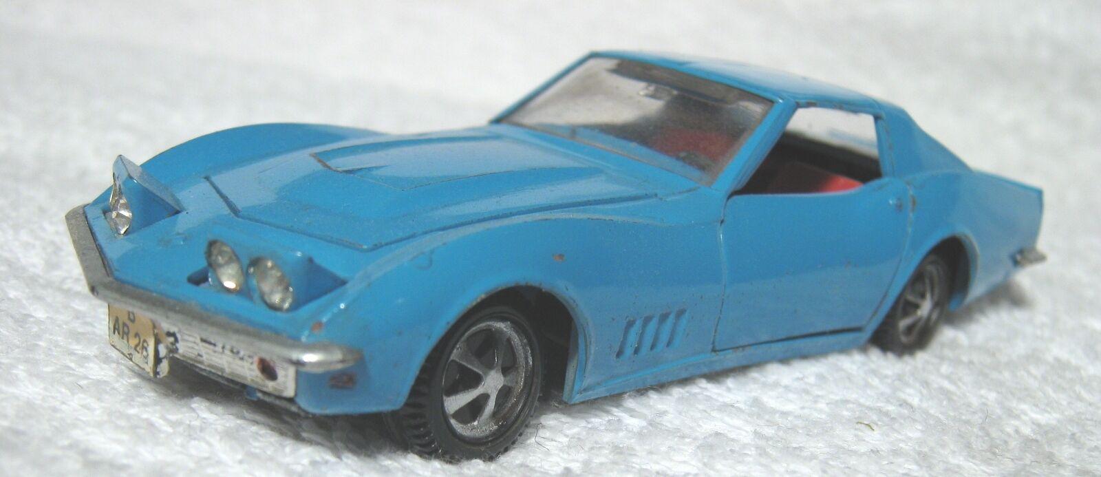 Marklin auto RAK 1818 Chevrolet Corvette mooie staat. Deuren, motorkap en koplam