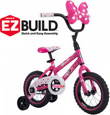 Girls Pink Bike Disney Minnie Size12 EZ Build by Huffy