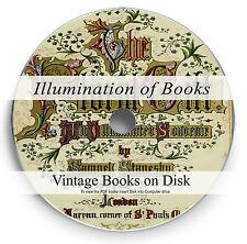 Rare Illumination of Books DVD Illuminated Manuscript Art Letter Calligraphy 283