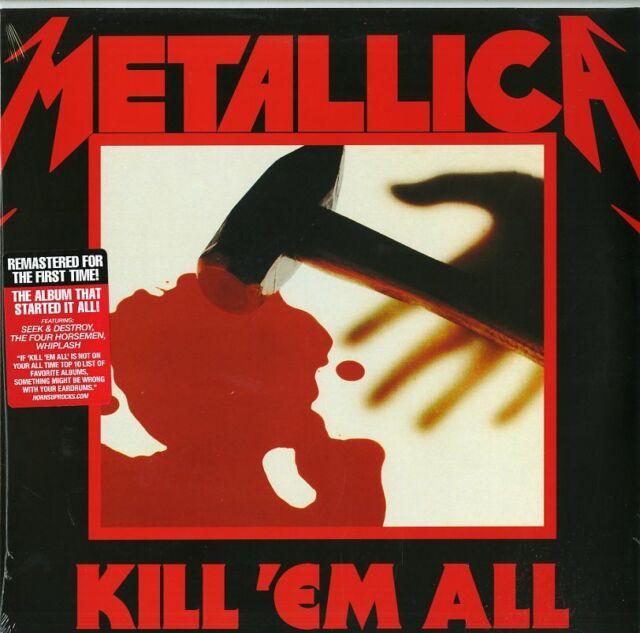 METALLICA - Kill 'Em All (2017) LP