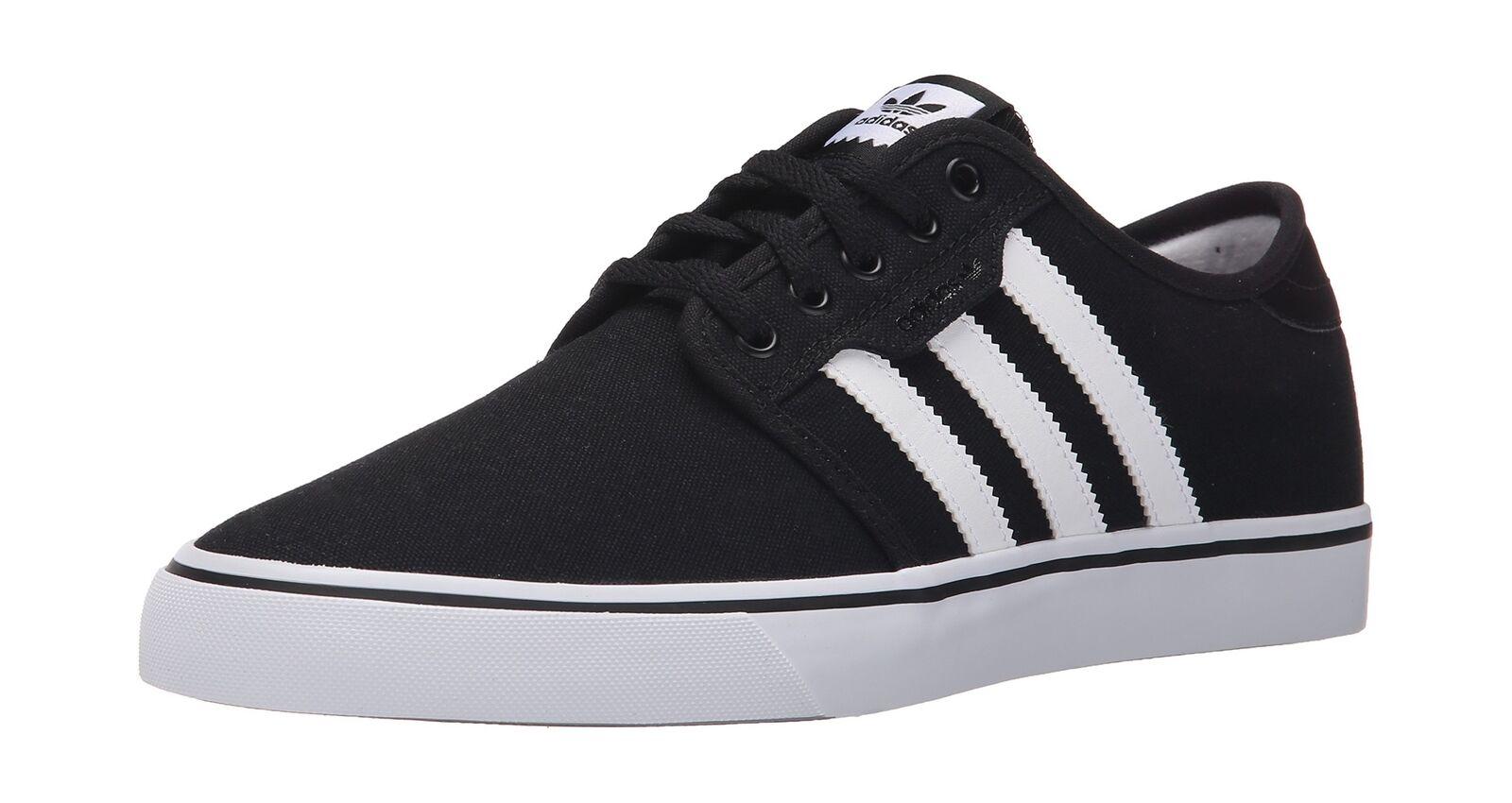 adidas Men's Seeley D(M) Skate Shoe Black/White/Gum 10 D(M) Seeley US 4f7dd2