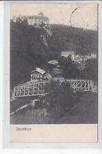 AK Rosenburg im Kamptal, Schloss m. Brücke, 1907