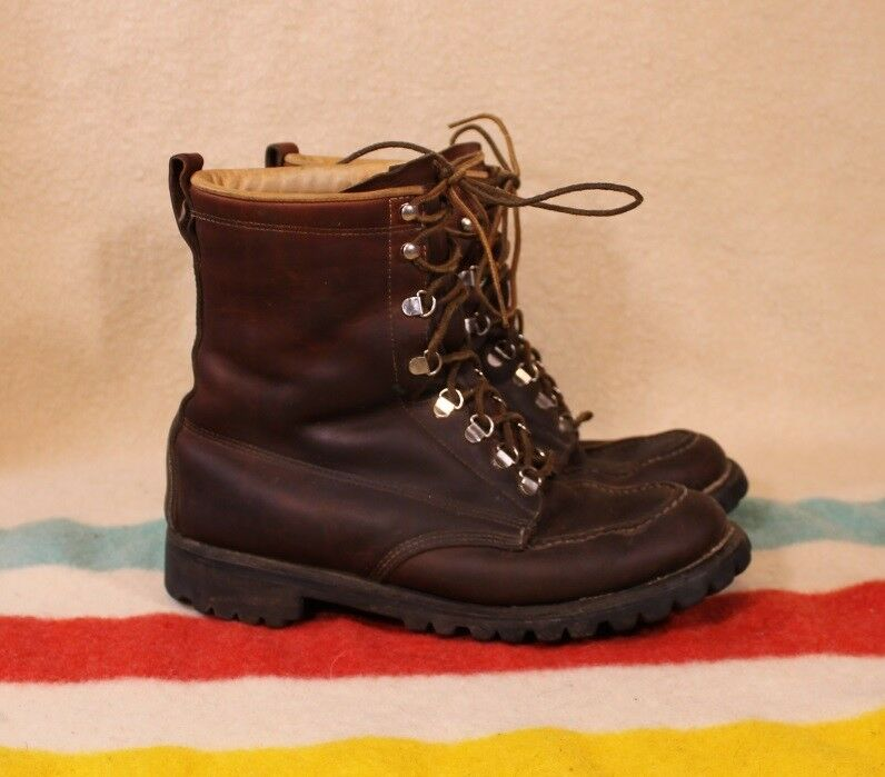 Vintage WEINBRENNER Field & Stream Boots Sz 9 E VG Cond 1960's USA Made QUALITY