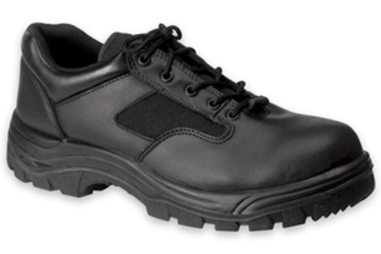 SALE Work Zone Black Oxford Work shoes- Soft Toe -N477