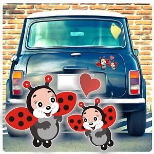 Details Zu Autoaufkleber Marienkäfer Käfer Herz Ladybug Auto Aufkleber Sticker Da1007