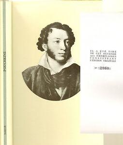 ALEXANDRE-POUCHKINE-EDITIONS-D-039-ARTS-MAZENOD-E-O-No-2860-5000-1962