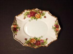 Royal Albert-Porzellan-Bone China-England-Old Country Roses-Kuchenteller//Schale.