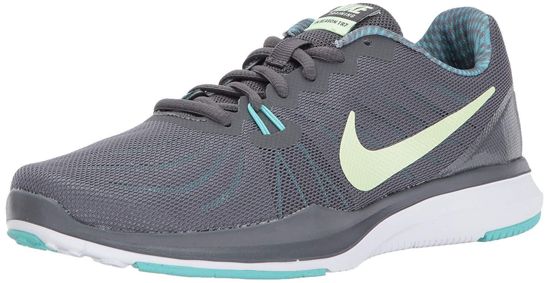 Nike Women's In-Season 7 TR Cross Training Shoes (909009 003) Dark Grey/ Volt