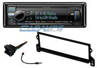 Kenwood Stereo Radio W/ Sirius Xm & Bluetooth W/ Install Kit For Mini Cooper