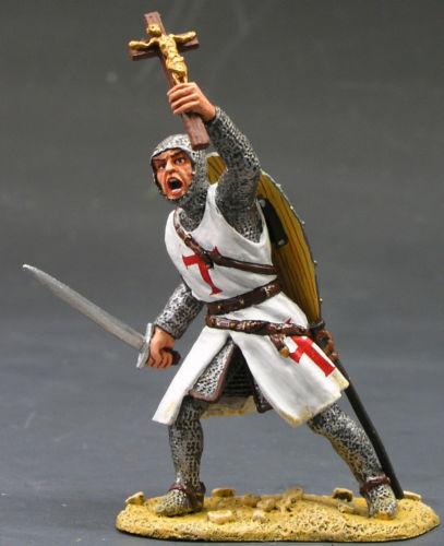 KING /& COUNTRY MEDIEVAL KNIGHTS SARACEN MK003 FOOT KNIGHT SWORD /& CRUCIFIX MIB
