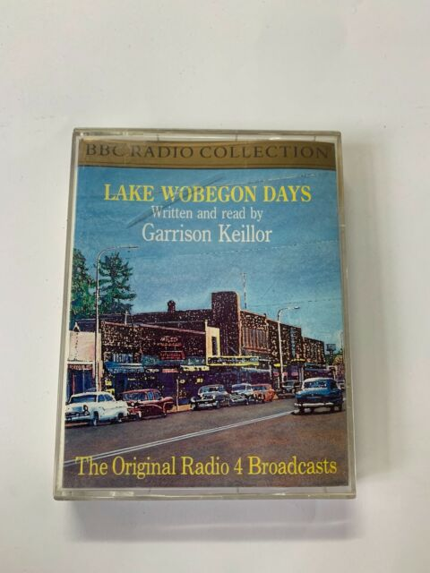 LAKE WOBEGON DAYS - GARRISON KEILLOR - 2 CASSETTES AUDIO TALKING BOOK