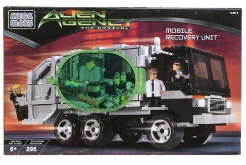 Mega Bloks Alien Mobile Recovery Unit 5611 Agency