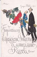 C3200) RIVOLI (TORINO) 1911 FRIGIDARIUM  ESPOSIZIONE INTERNAZIONALE DI UMORISMO.