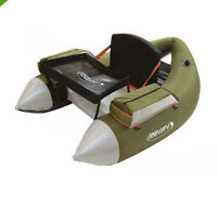 Outcast Fish Cat 4 Deluxe Float Tube, Olive, Free Shipping In Us, Free $15 Gift