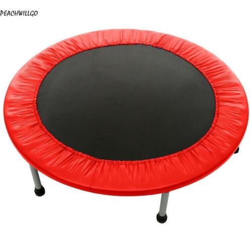 """NEW 48/"""" Mini Trampoline Fitness Exercise Gym Rebounder Cardio Trainer Jump H1PS"""