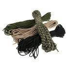 100ft 550 Paracord Parachute Cord Lanyard Rope Mil Spec Type III 7 Strand