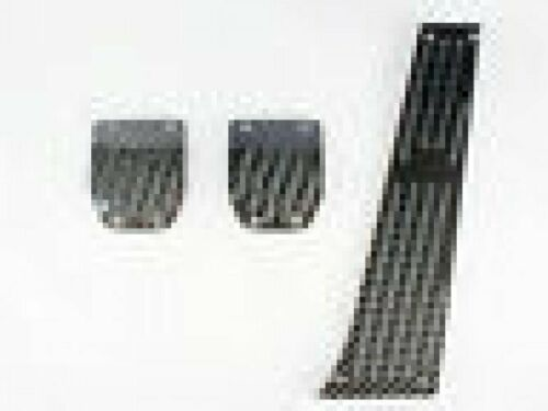 *Für BMW E39 E28 E34 E39 E60 E61 Schwarz Carbon Pedalset Pedale Set MT 3-teilig