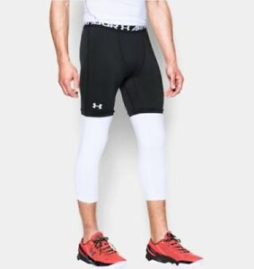 def9986524a77 Under Armour Men's HeatGear SC30 Lock In 3/4 Compression Leggings ...