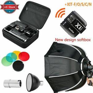 US-Godox-2-4-TTL-HSS-AD200-Flash-New-Design-Softbox-X1T-N-S-F-C-O-Transmitter