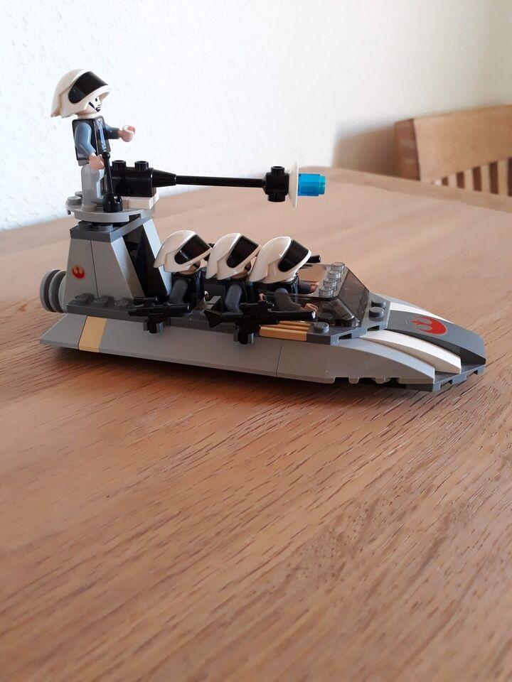 Lego Star Wars, Rebel Scout Speeder Lego 7668