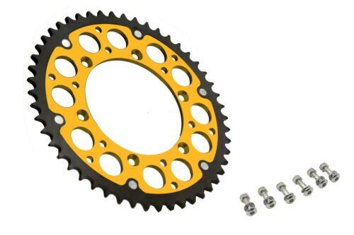REAR GOLD HYBRID 44T SPROCKET FIT SUZUKI RM125 250 DRZ400E//S//SM RMZ250 RMZ450