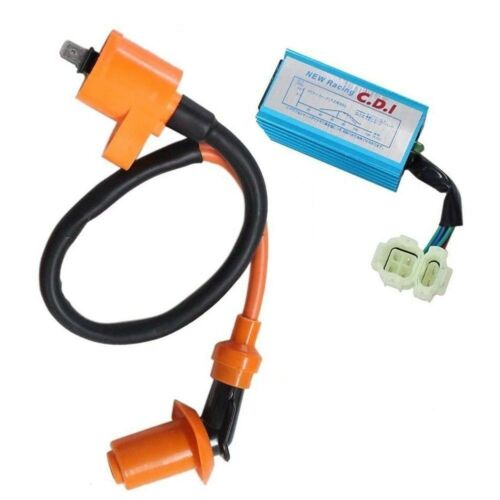 High Performance Ignition Coil 6 pins CDI Box Moped Scooter GO KART CO03+CD09