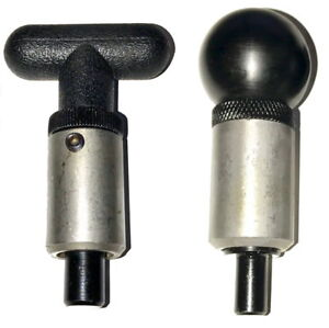 SBDs-Pop-Pull-PINS-3-8-034-1-2-034-PLUNGER-1-034-Dia-Barrel-WELD-ON-T-Handle-Round-Knobs