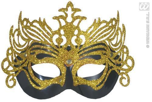 Kids Masquerade Ball Glitter Mask Venetian Curved Eye Mask Fancy Dress Childs