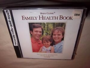 Details about MAYO CLINIC FAMILY HEALTH BOOK-ULTIMATE INTERACTIVE GUIDE  SOFTWARE IBM CD-ROM