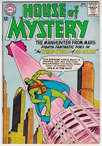 House-Of-Mystery-144-F-VF-7-0-Martian-Manhunter-1964