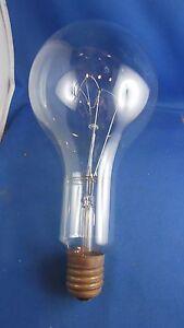 rare ancienne tres grosse ampoule electrique filament 30cm ebay. Black Bedroom Furniture Sets. Home Design Ideas