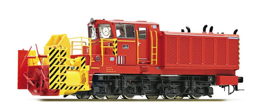 prezzo più economico Roco 72801 S244 001 Spazzaneve FS livrea rossa, rossa, rossa, telaio nero, DCC suono  negozio di sconto