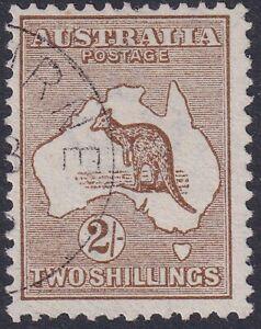 Kangaroos-1913-1st-Wmk-2-Brown-CTO