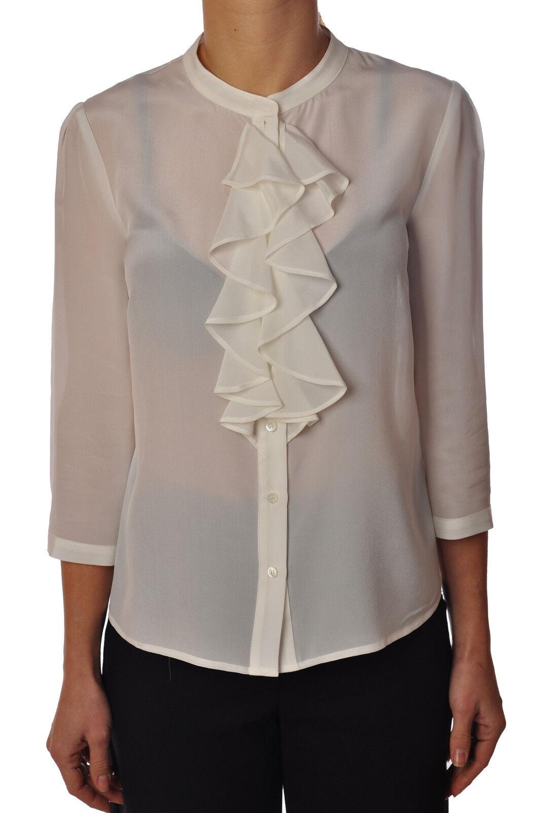 Patrizia Pepe - Blausen-Shirt - Frau - Weiß - 3279210D190642
