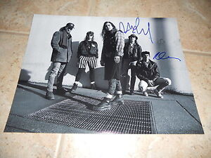 Pearl Jam Band Signed Autographed 11x14 Guitar Photo #1 x Mike & Dave F3