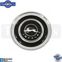 64 Chevy Impala Horn Ring Cap Emblem Assembly