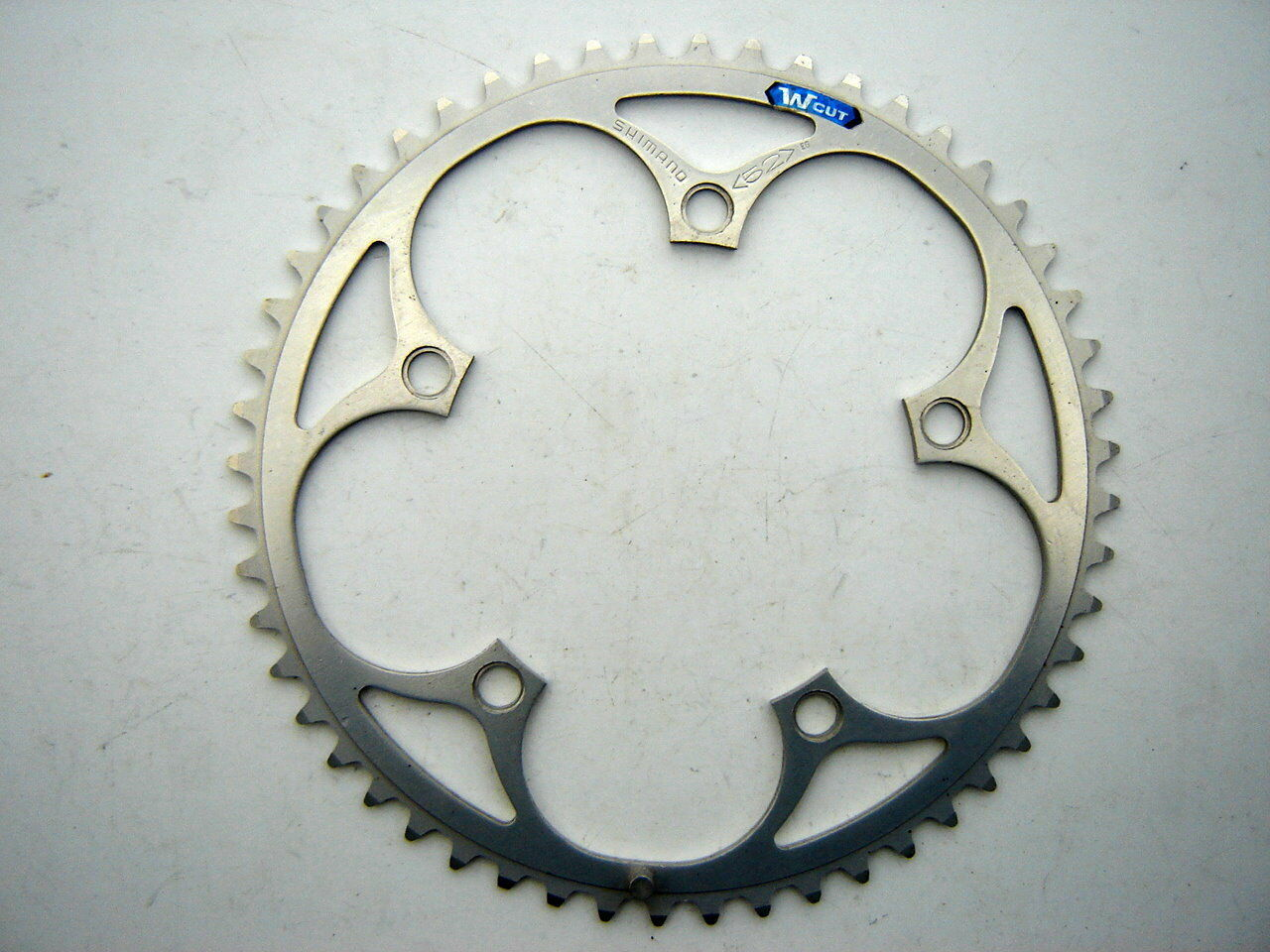 SHIMANO Wcut CHAINRING - 52 T - 130 BCD - 1980 - NOS
