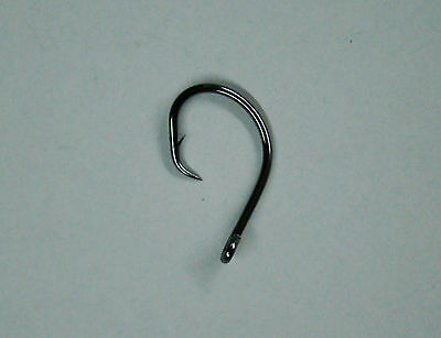 2X Strong 48 Circle Hooks Size #2//0 Black Nickel Finish Fishing Hooks
