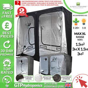 AgréAble Lighthouse Max Xl Grow Tentes-premium Portable Grow Chambres-gamme De Tailles/spec-afficher Le Titre D'origine
