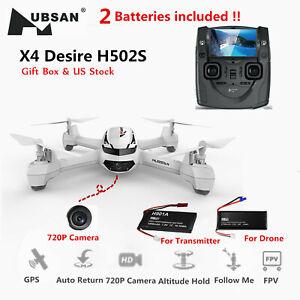 Hubsan H502S X4 Drone 5.8G FPV RC 720P Follow Me...
