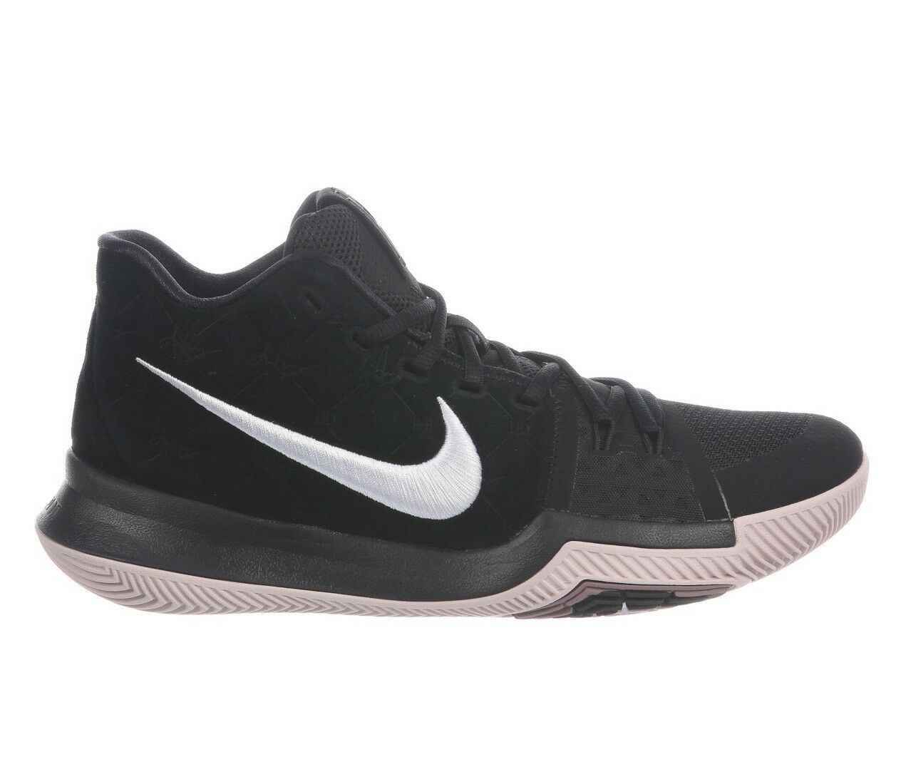 Nike Kyrie 3 Silt Red Mens 852395-010 Black Suede Basketball Shoes Comfortable Comfortable and good-looking