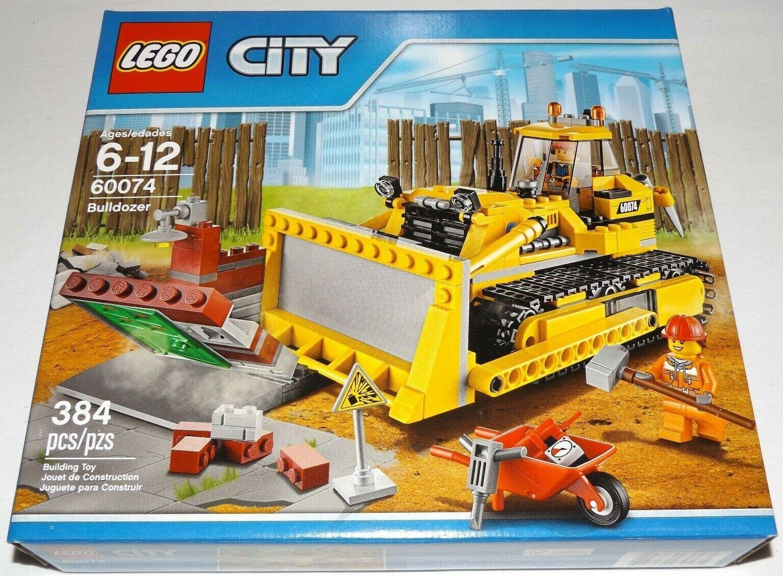 Garanzia del prezzo al 100% LEGO 60074 60074 60074 Bulldozer città 2 demolition lavoroer minicifras  ultimi stili