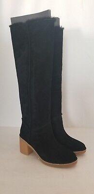 8f373629083 NEW UGG WOMEN'S KASEN TALL SUEDE KNEE HIGH BOOTS 1018937 SIZE 6,7 CHESTNUT  BLACK | eBay