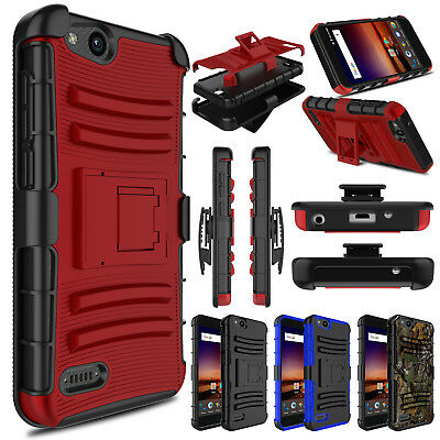 brand new 5d7bf 42420 For ZTE Tempo X/N9137/Blade Vantage/Z839 Case Hybrid Shockproof Armor Hard  Cover | eBay
